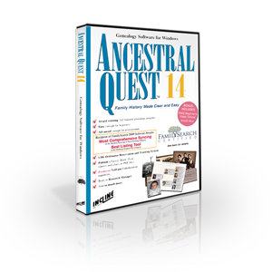 Ancestral Quest retail box image