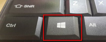 Windows 10 logo key