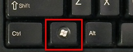 Windows 7 logo key